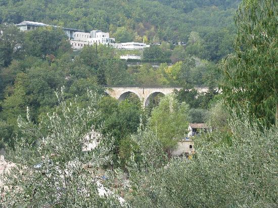 La Bastide Saint Christophe : Balcony view South/West toward perfume factory
