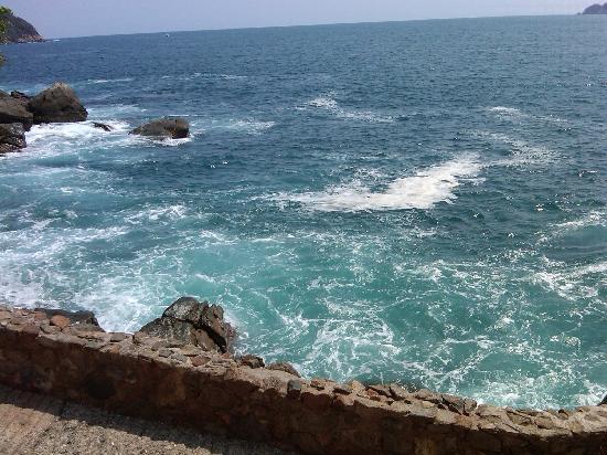 Las Brisas Acapulco: vista desde el restaurante! preciosa!!
