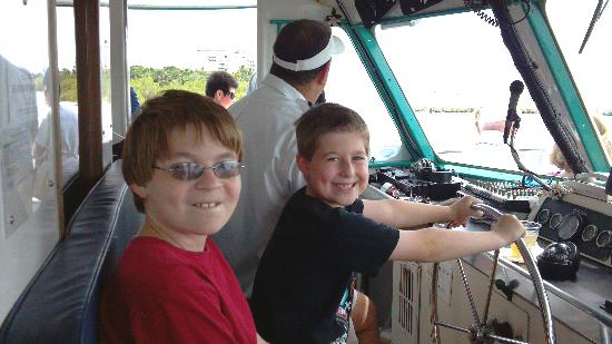 Fort Myers Princess : Thanks Captain Gene - My boys had a blast!