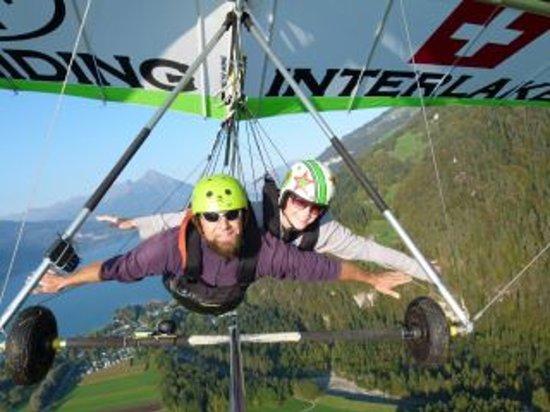 Hang Gliding Interlaken : Flying like an eagle