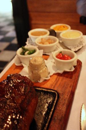 La Cabrera Sur: Meal