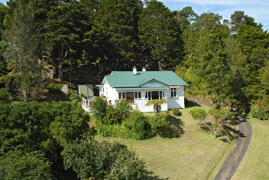 Kauri Nest B&B: set in half acre trees with river view