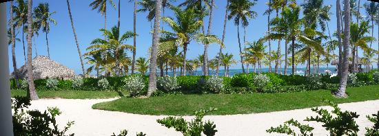 Secrets Royal Beach Punta Cana : Beach view from La Riviera