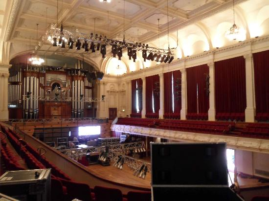 Magnificent concert chamber in Auckland Town Hall