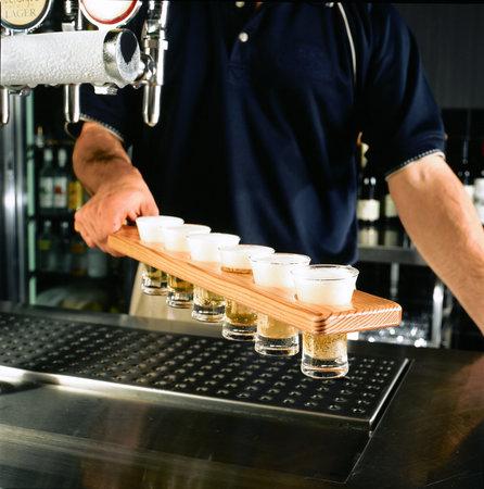 Bluetongue Cafe: Beer tasting