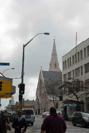 St. Patrick's Cathedral: St Patrick's as viewed from down the street