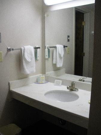 Quality Inn Navajo Nation : bathroom