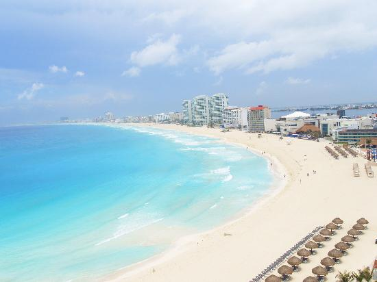Krystal Grand Punta Cancun: View to the east!