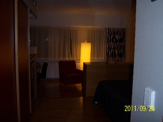 Scandic Infra City typical single room