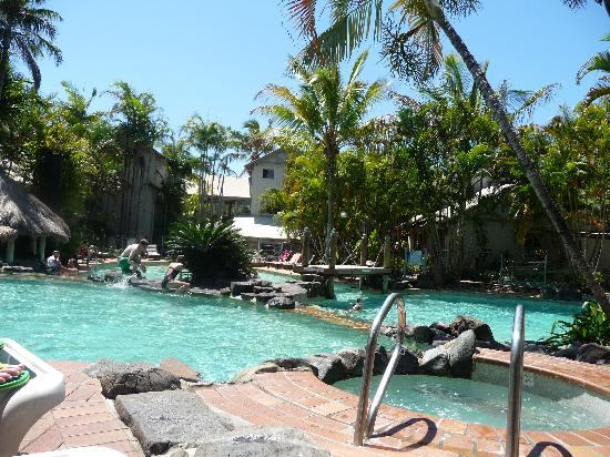 Islander Noosa Resort: Lagoon pool