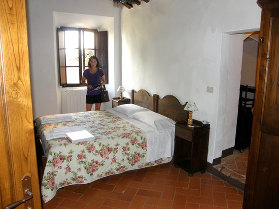 Agriturismo Sant'Anna in Camprena: Our room