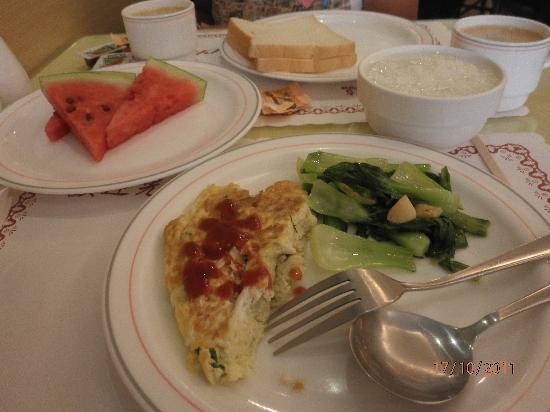 Shin Shih Hotel: Breakfast