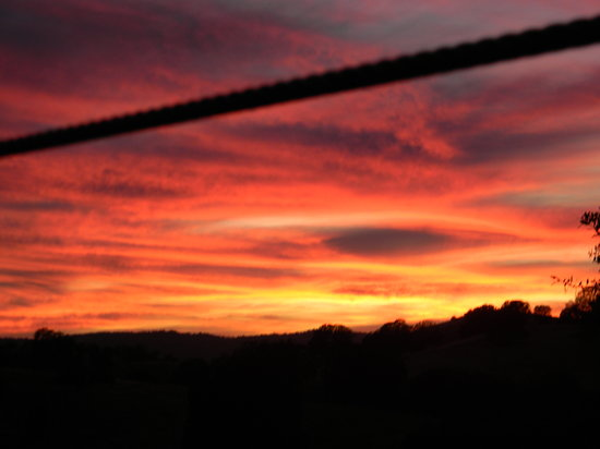 Yosemite Ziplines and Adventure Ranch: The end of a perfect days zipping.