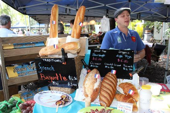 Noosa Farmers Market: French cheese in Noosa