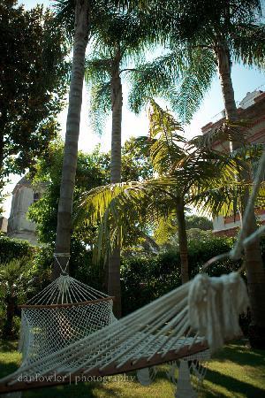 Villa La Contessina: hammock