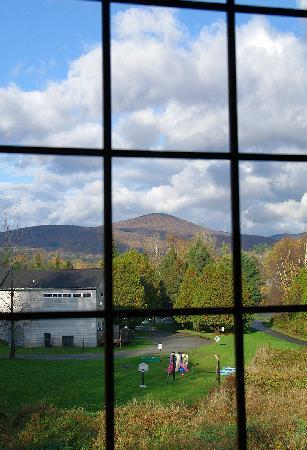Grey Fox Inn & Resort: West view from the mountain view room
