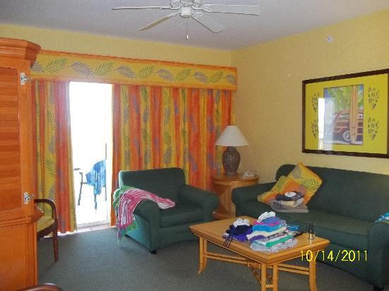 Holiday Inn Club Vacations Cape Canaveral Beach Resort: main room