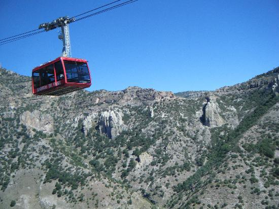 Copper Canyon, Mexico: cable car