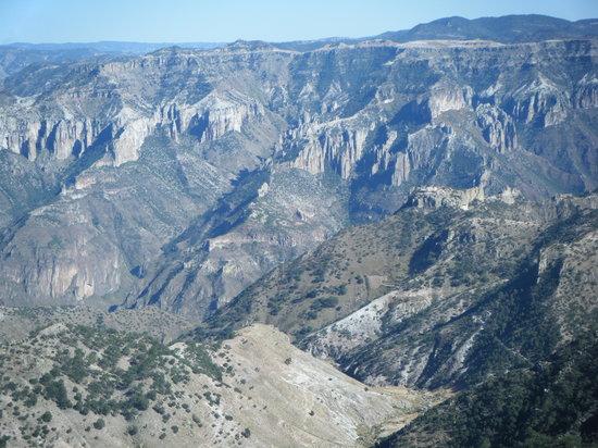 Copper Canyon, Mexico: canyon view