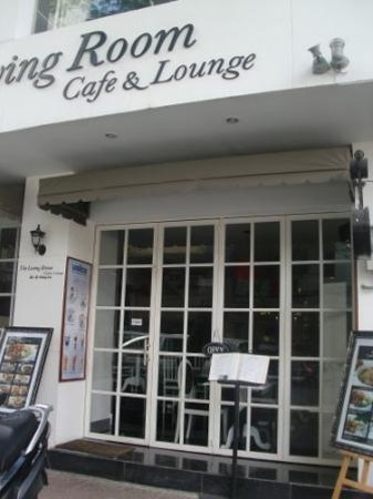 The Living Room Cafe Lounge Front