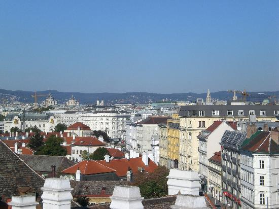 Lindner Hotel Am Belvedere: View from the 7th storey.