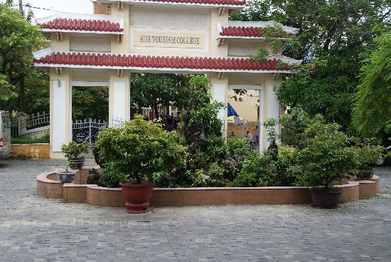 Villa Hue: Front entry
