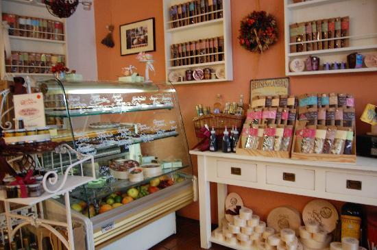 Goldhelm Schokoladen: Innenansicht
