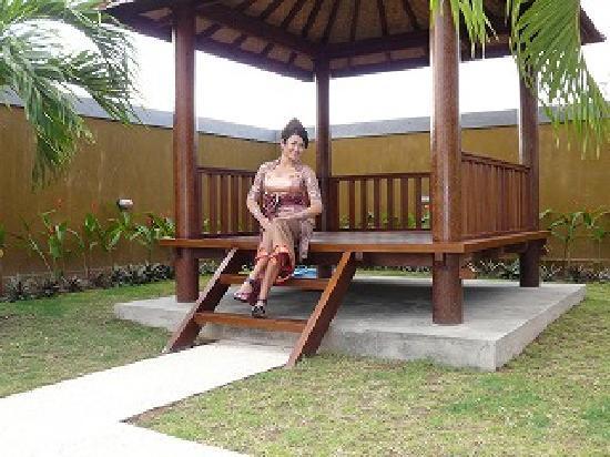 Puri Hasu Bali : ガゼボ