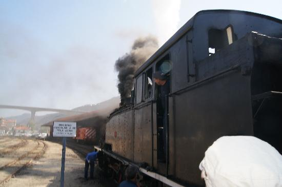 Douro Historic Steam Train : the train