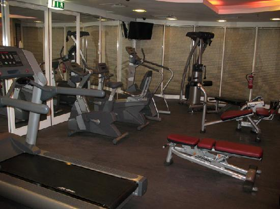 Millennium Airport Hotel Dubai: gym, not very inspiring