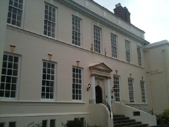 Haughton Hall: Front