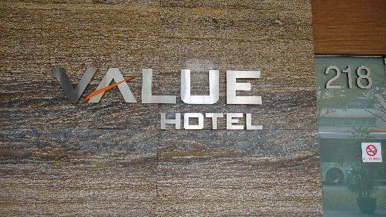 Value Hotel Balestier: Hotel Entrance