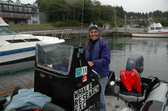 Whale Research EcoExcursions: Carrie, your guide!
