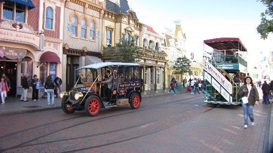 Parque Disneylandia: MAIN STREET U.S.A.