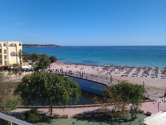 Playa Moreia Apartments: Morning view from room