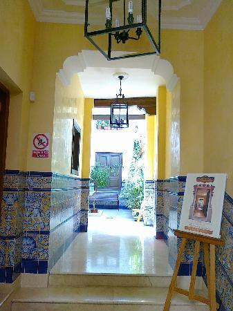 Casa de las Mercedes: entrance