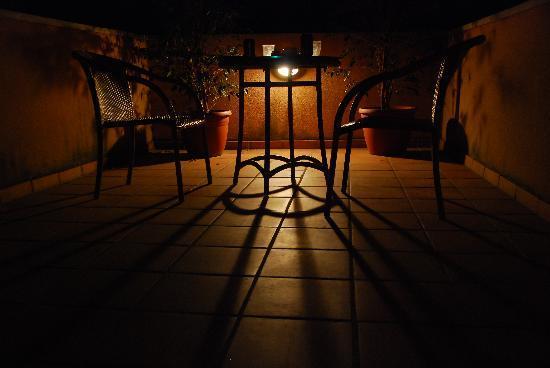 Silken St. Gervasi Hotel: lovely terrace of room 5