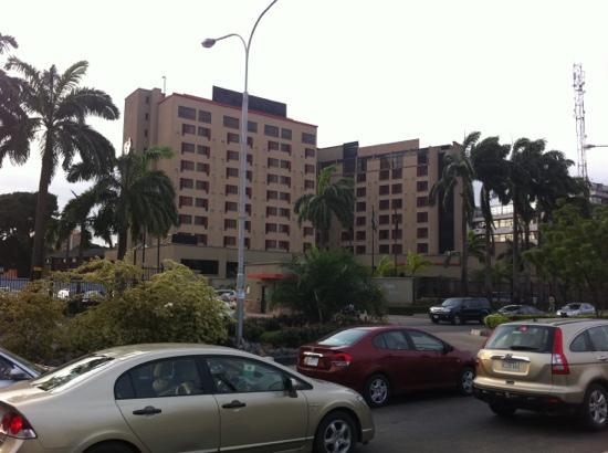 Southern Sun Ikoyi: from across the road