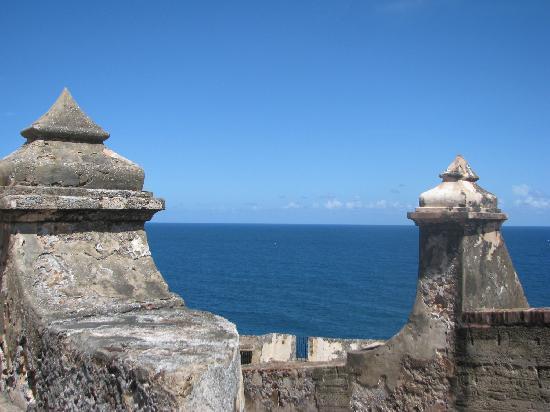 Site historique national de San Juan : View from Castle