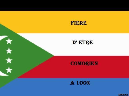 Moya, Komorene: drapeau comores