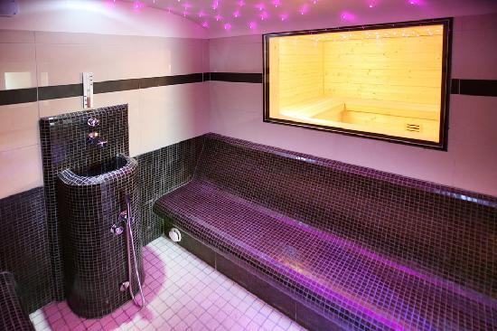 Wellness Hotel Casa Barca: Steam Room