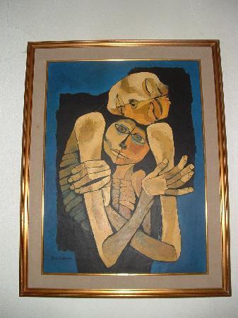 Guayasamin Museum: a painting
