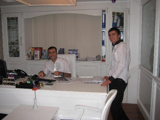 Albinas Hotel: Reception