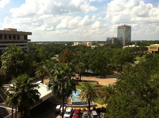 Hilton Orlando Lake Buena Vista - Disney Springs™ Area: View from room - Downtown Disney in the Distance
