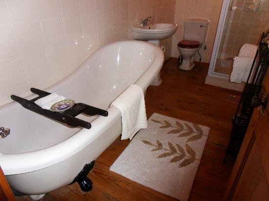 Centre-Ville Guest House: en de badkamer