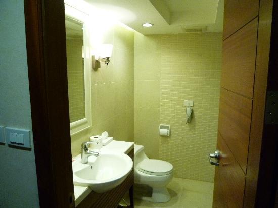Jasmine City Hotel: 洗面台です