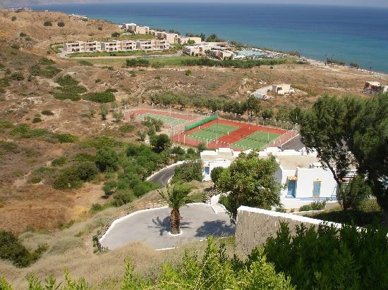Lagas Aegean Village: from the top