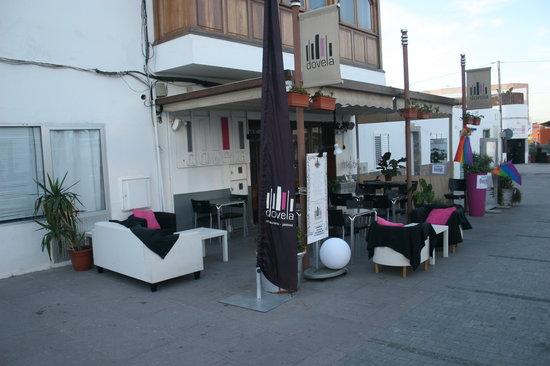 Dovela Restaurante: la piazzetta del DOVELA