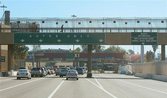 Tijuana, Mexico: border