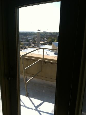 "Legacy Hotel & Suites: the joke of a view from the ""penthouse"""